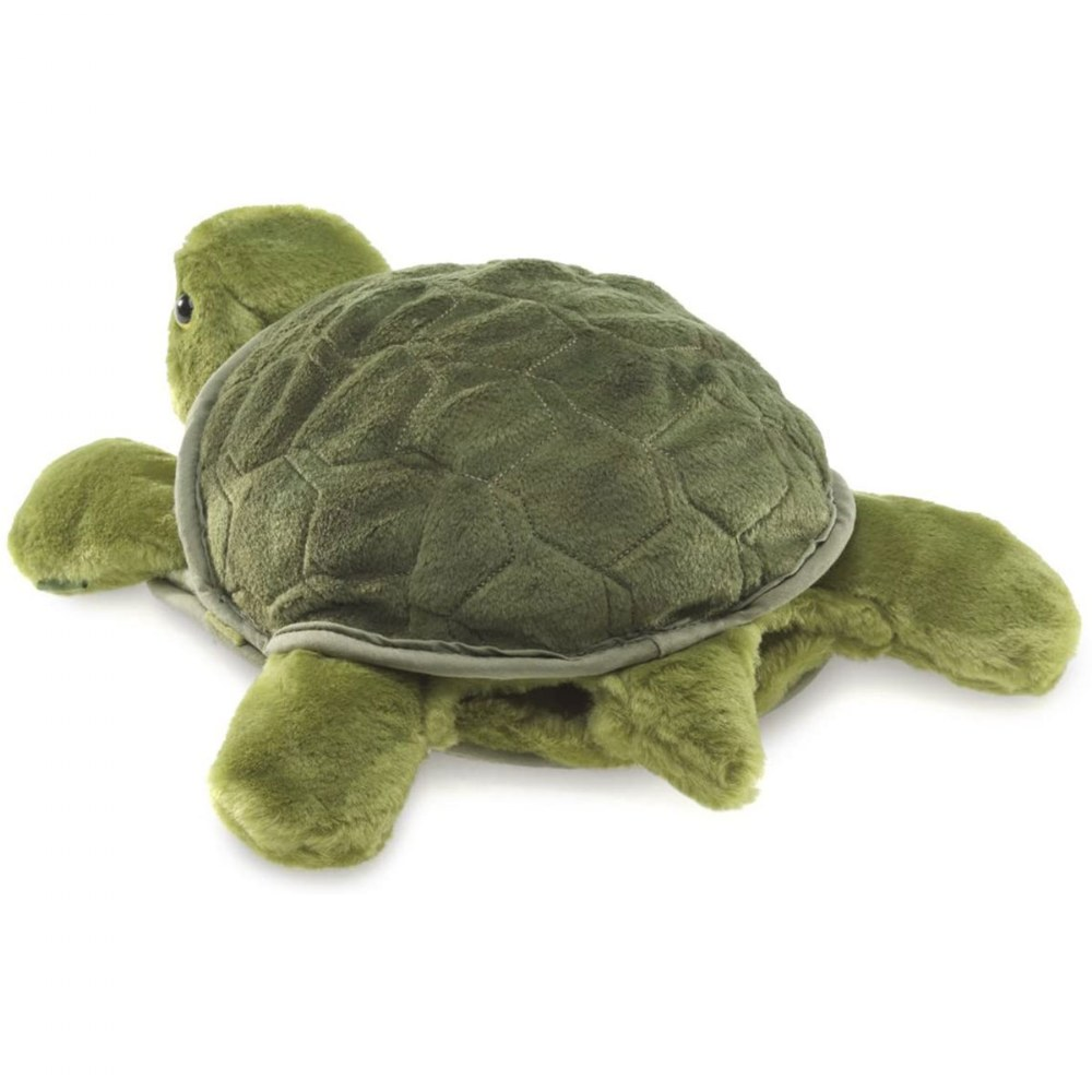 Alternate Image #1 of Turtle Plush Hand Puppet