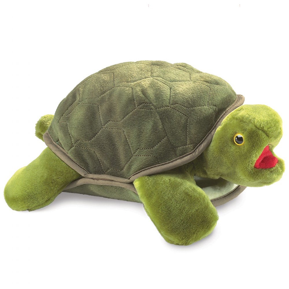 Turtle Plush Hand Puppet