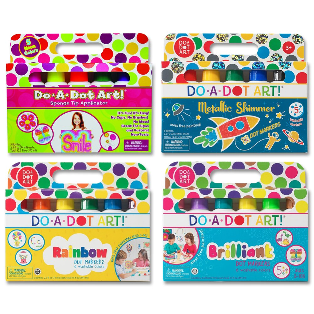 Do A Dot Art Sets - 22 Markers