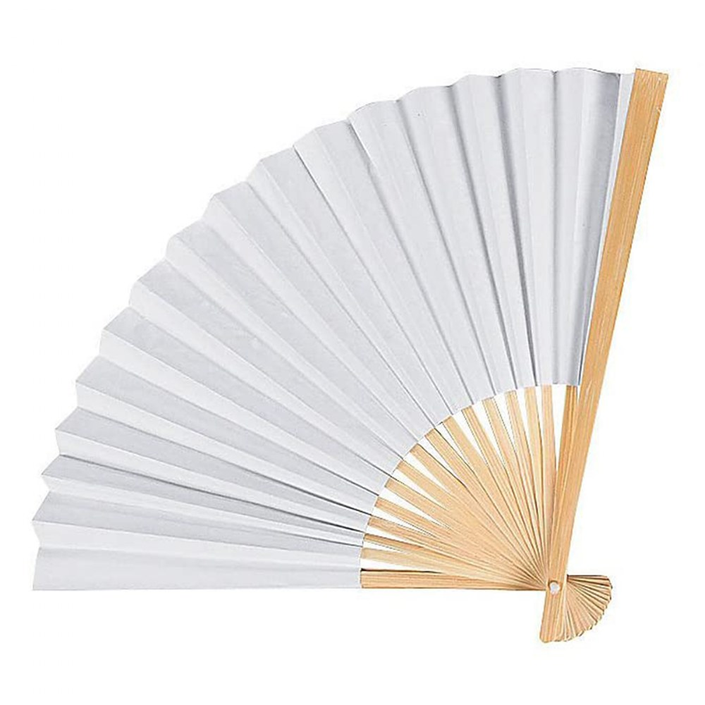 Alternate Image #1 of DIY Ready to Decorate Paper Fans for Arts and Crafts Projects