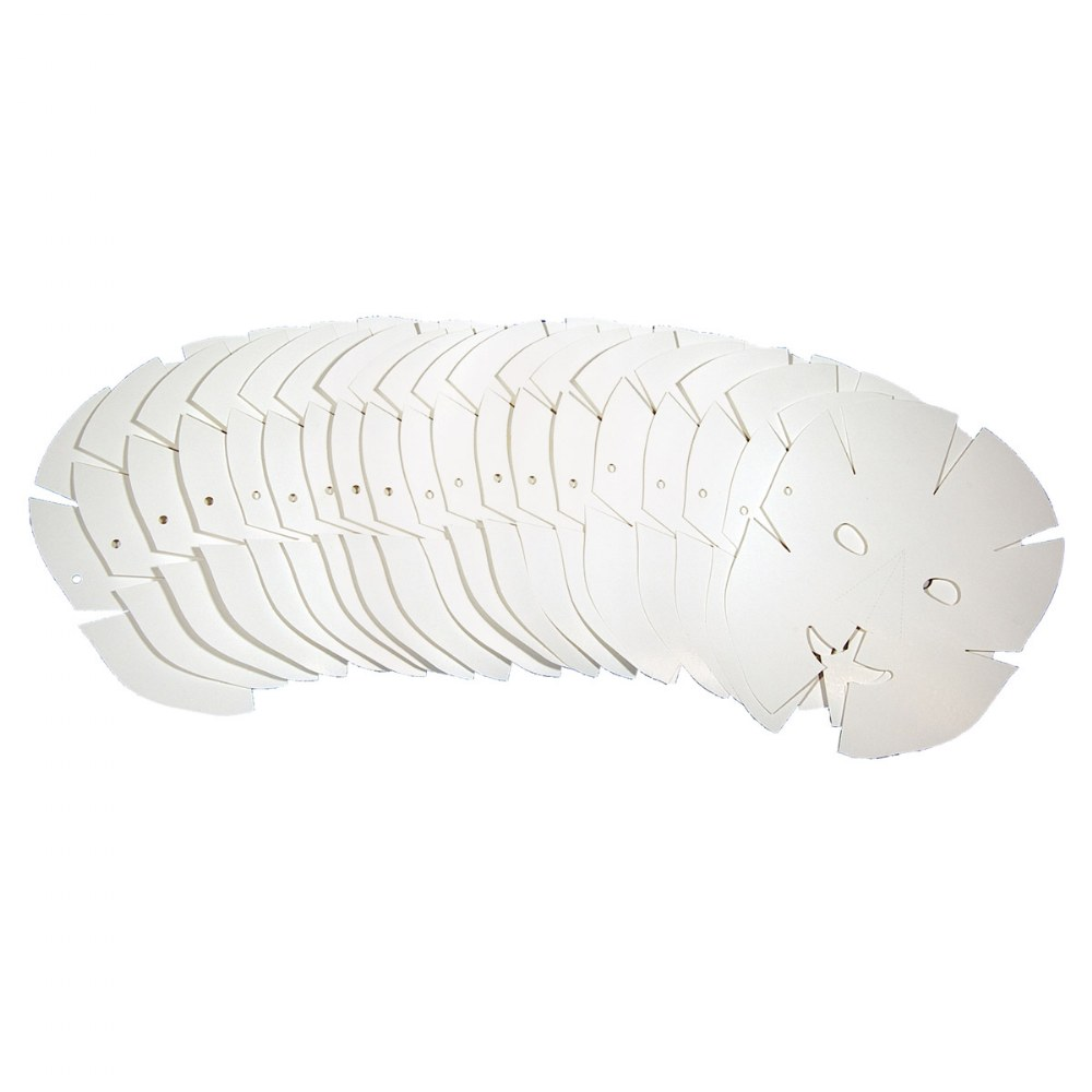 Alternate Image #1 of Folding Fun Masks - 40 Count