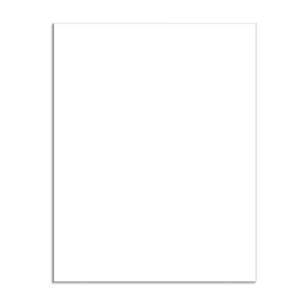 White Posterboard - 50 Sheets