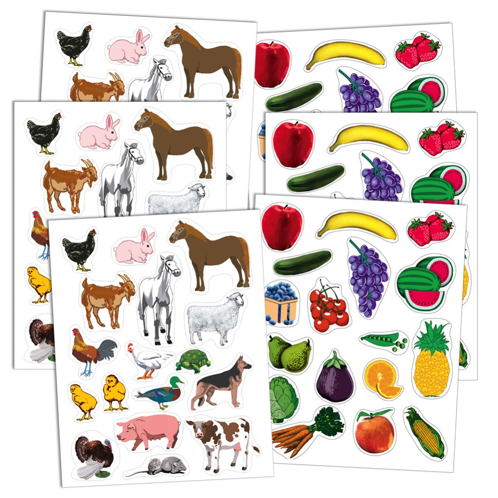 Alternate Image #2 of Stickers Variety Pack - 24 Sheets