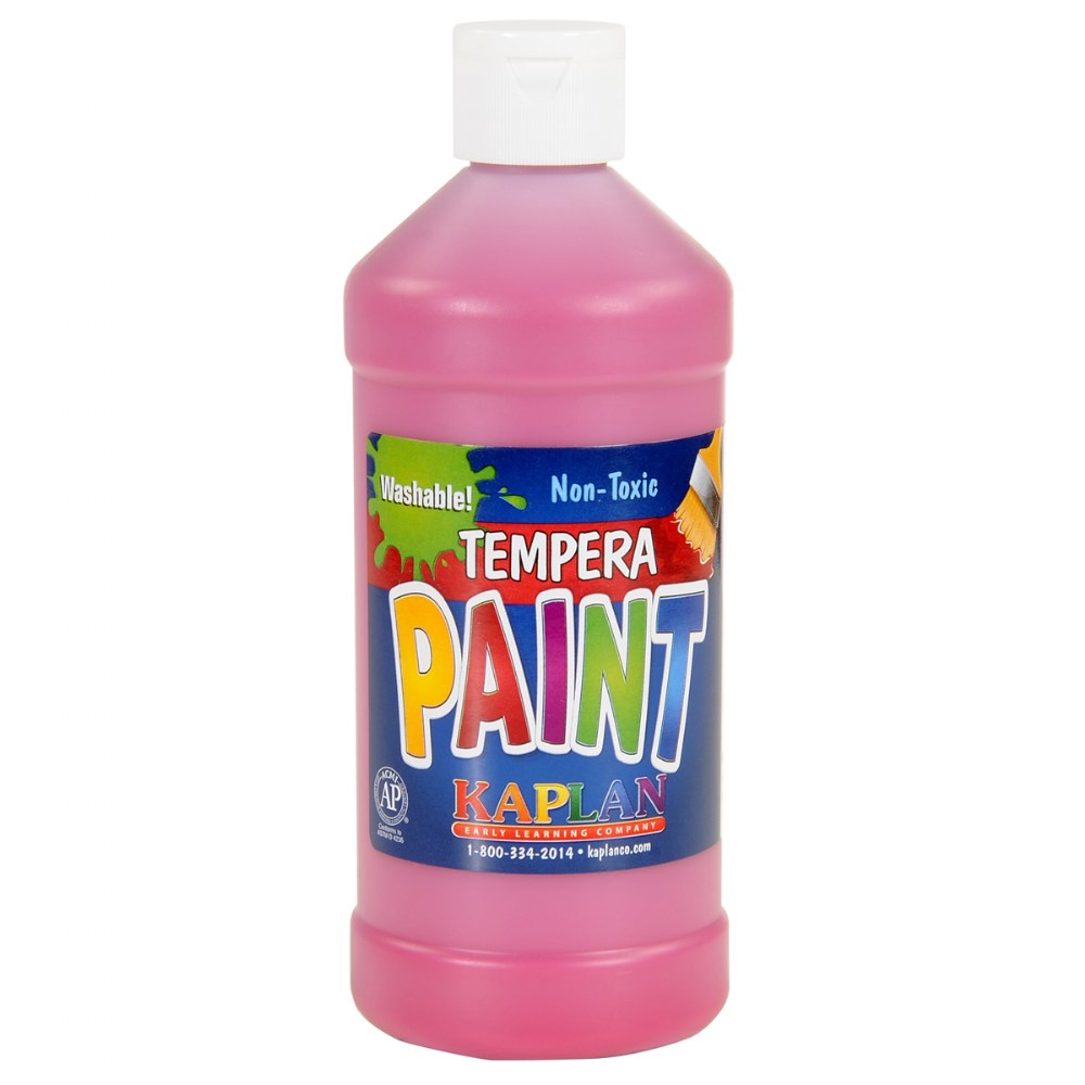 Kaplan Washable 16 oz. Tempera Paint