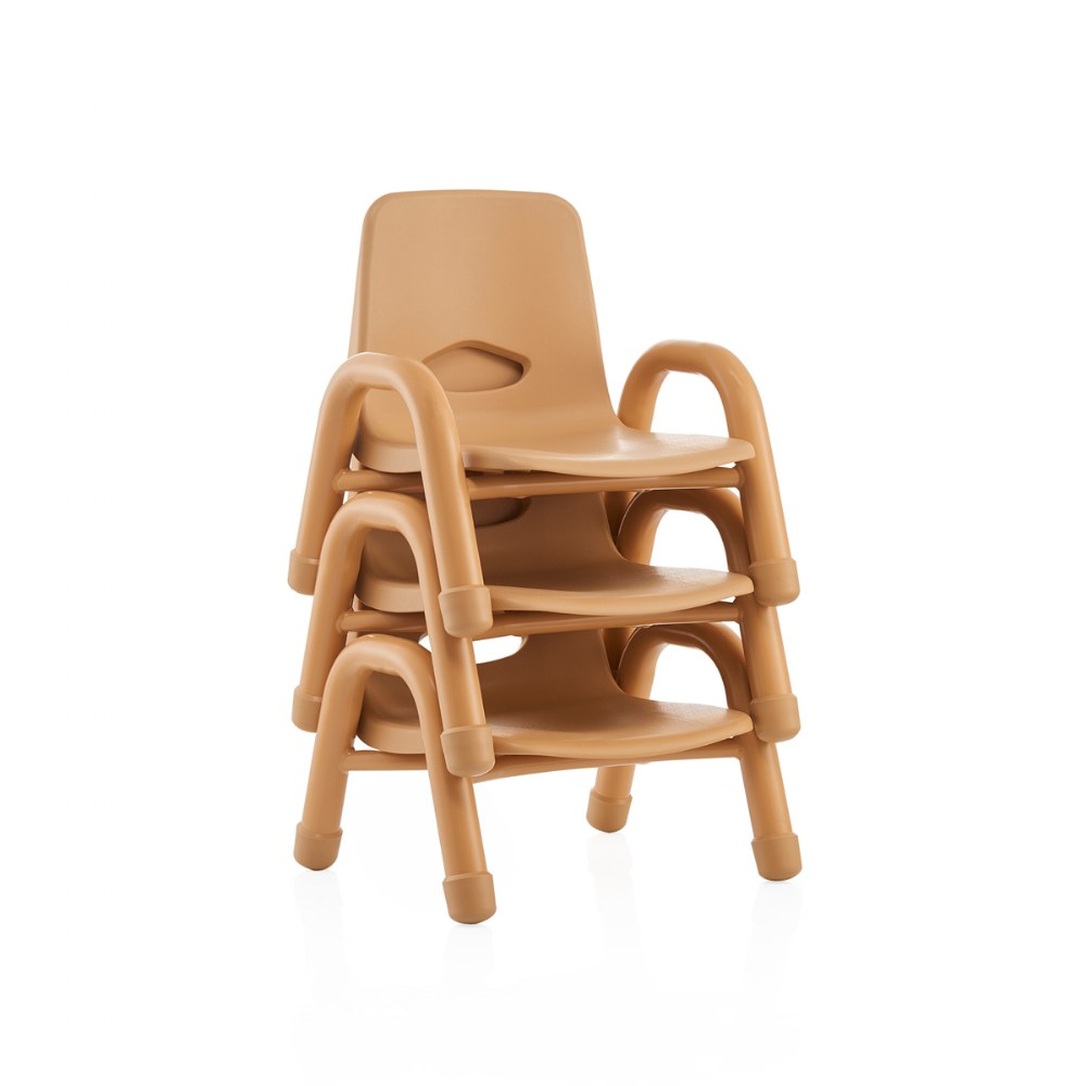 Alternate Image #10 of Nature Color Chunky Stackable Chairs