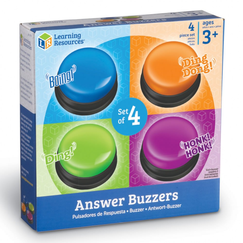 Alternate Image #3 of Answer Buzzers - Set of 4
