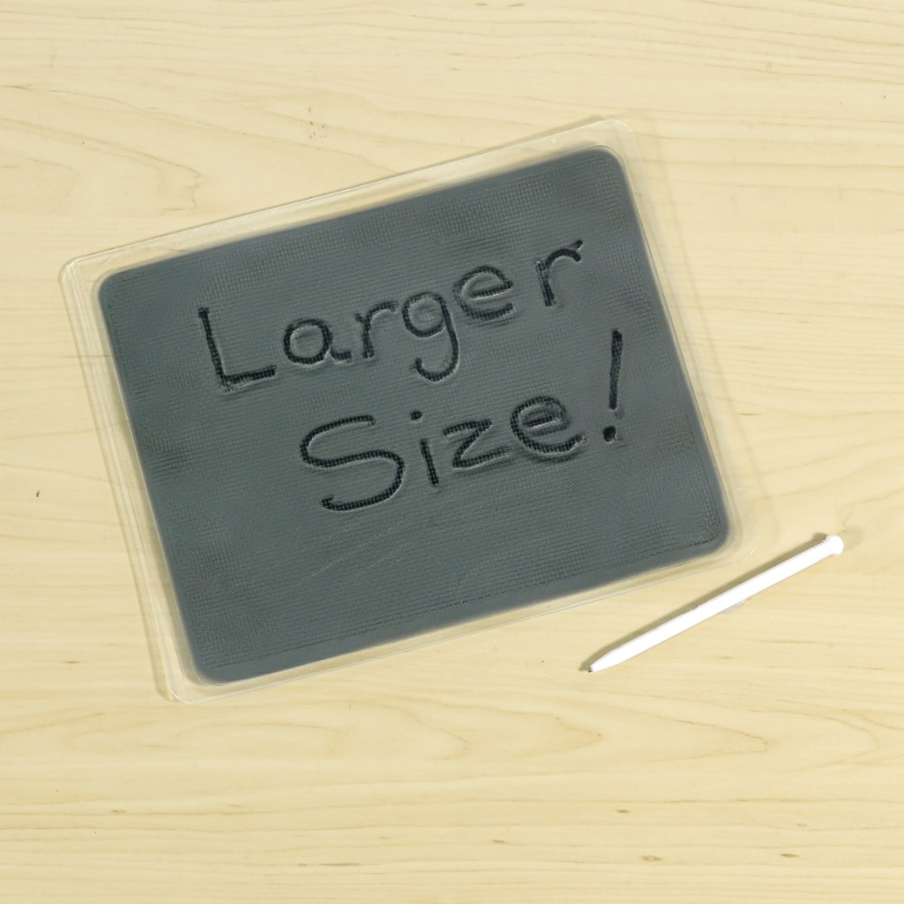 "Alternate Image #2 of Large Gel Writing Boards 8.5"" x 7"" - Set of 6"