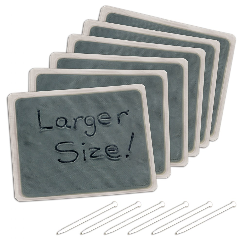 "Large Gel Writing Boards 8.5"" x 7"" - Set of 6"