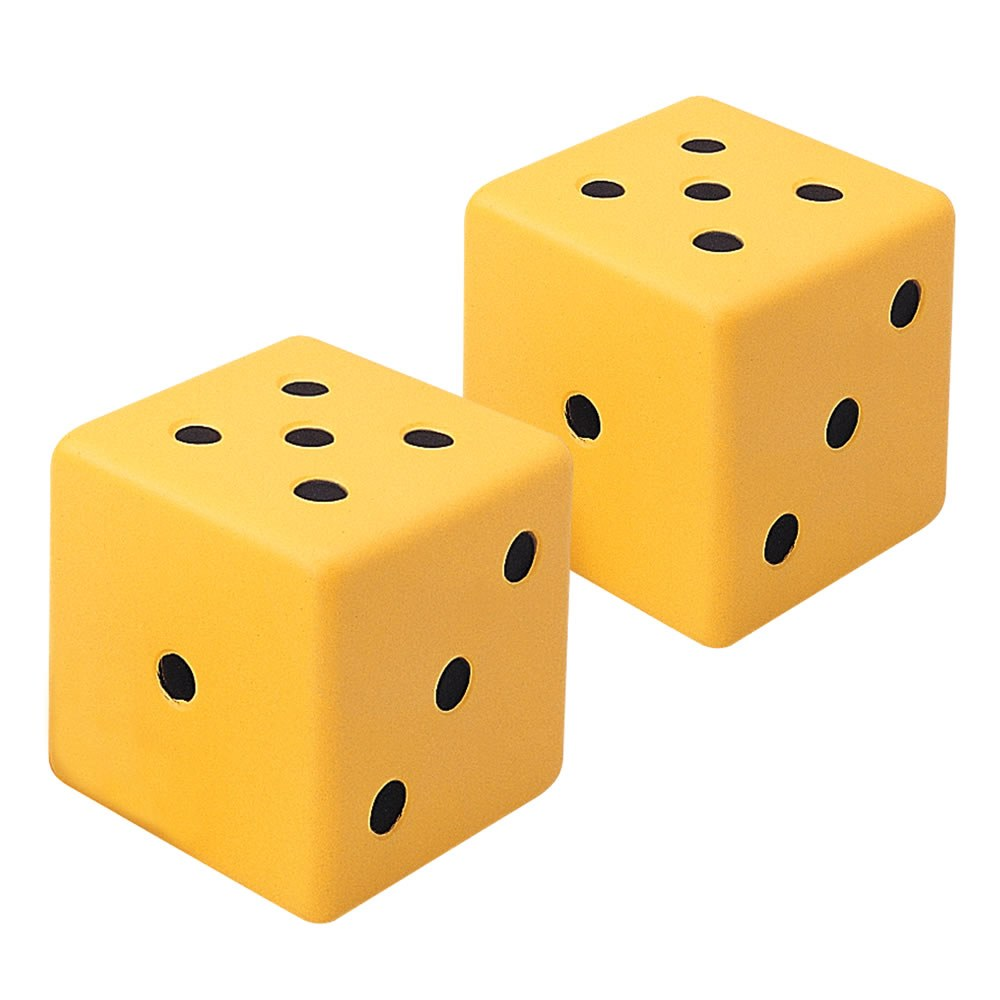 Jumbo Dot Dice (Set of 2)