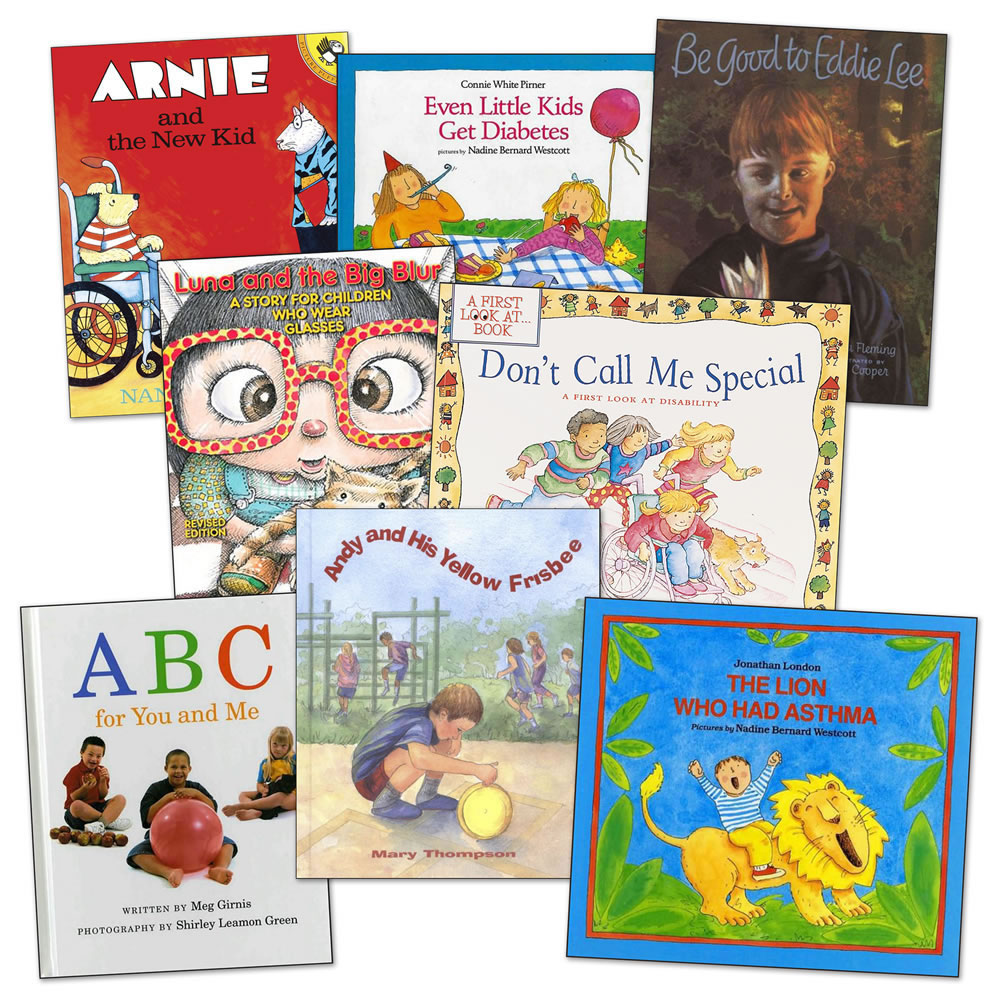 Different Abilities Books - Set of 8