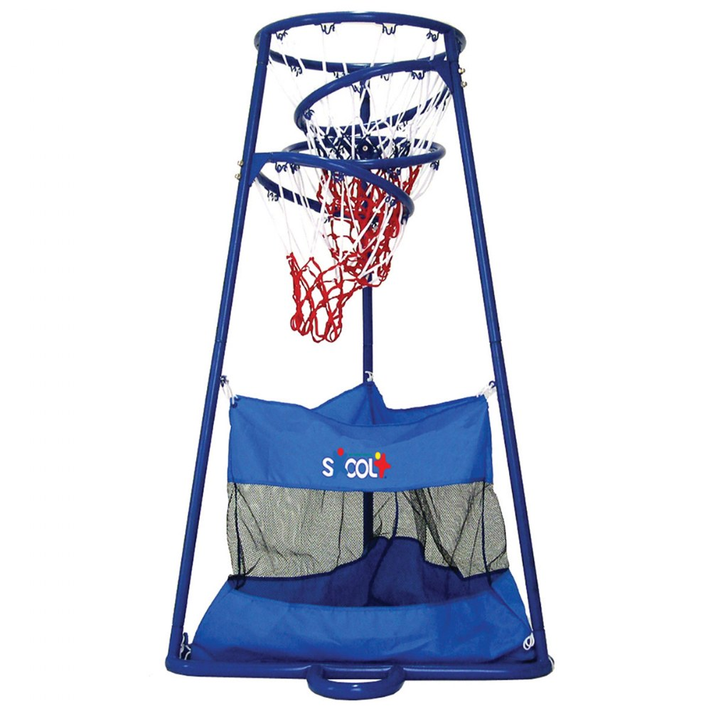 Alternate Image #1 of 4 Ring Basketball Stand With Storage Bag