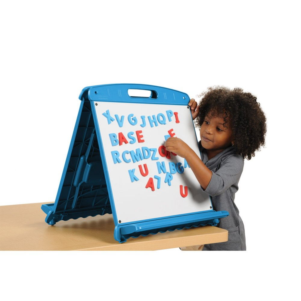 Alternate Image #1 of Magnetic & Dry-Erase Tabletop Easel