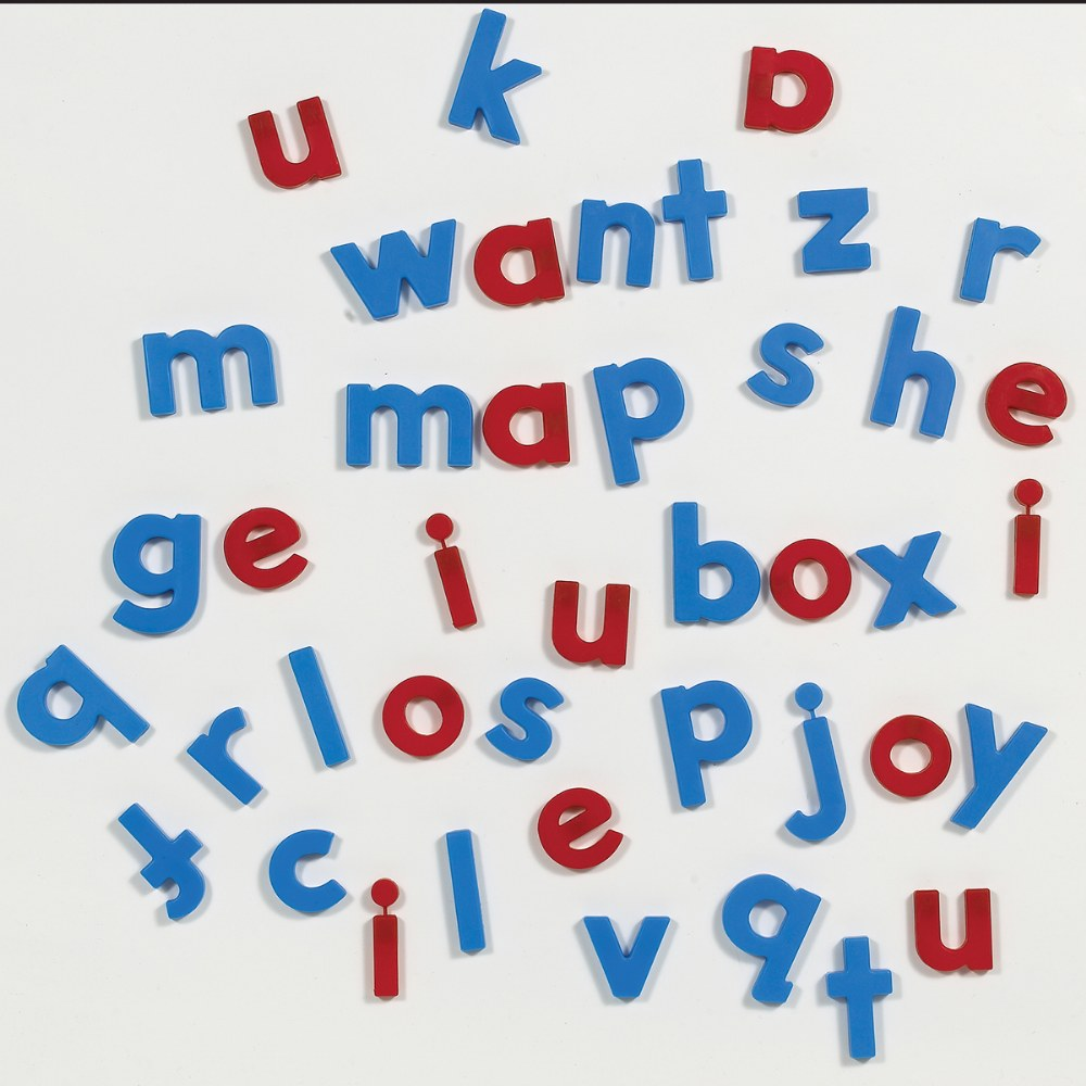 Alternate Image #1 of AlphaMagnets Lowercase Class Set - 126 Pieces