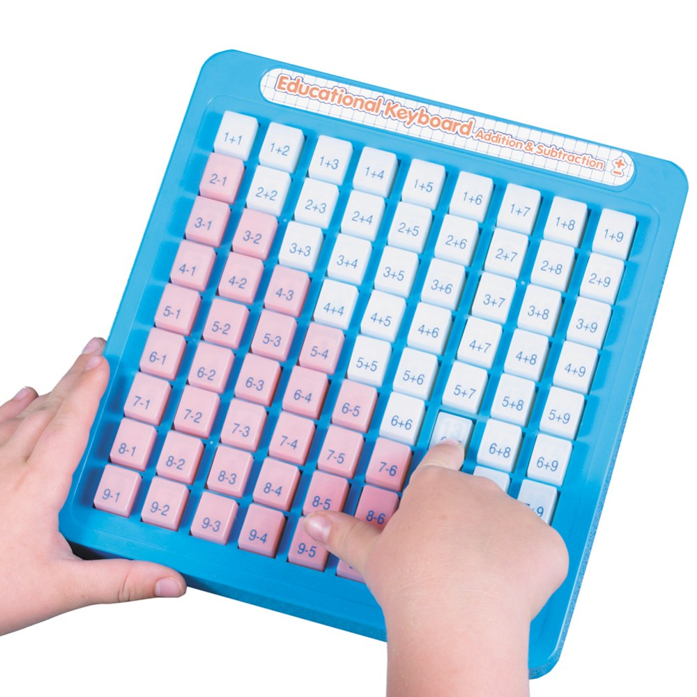 Alternate Image #1 of Educational Keyboard Addition & Subtraction