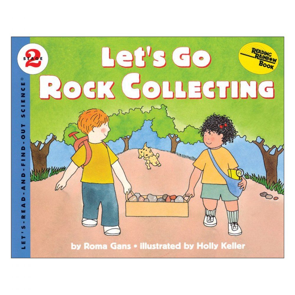 Let's Go Rock Collecting - Paperbcak