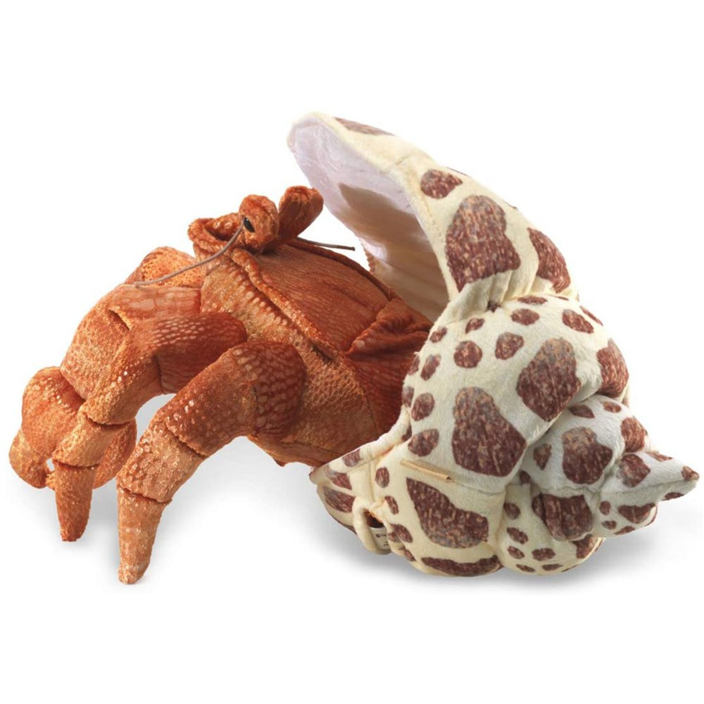 Alternate Image #1 of Hermit Crab Hand Puppet