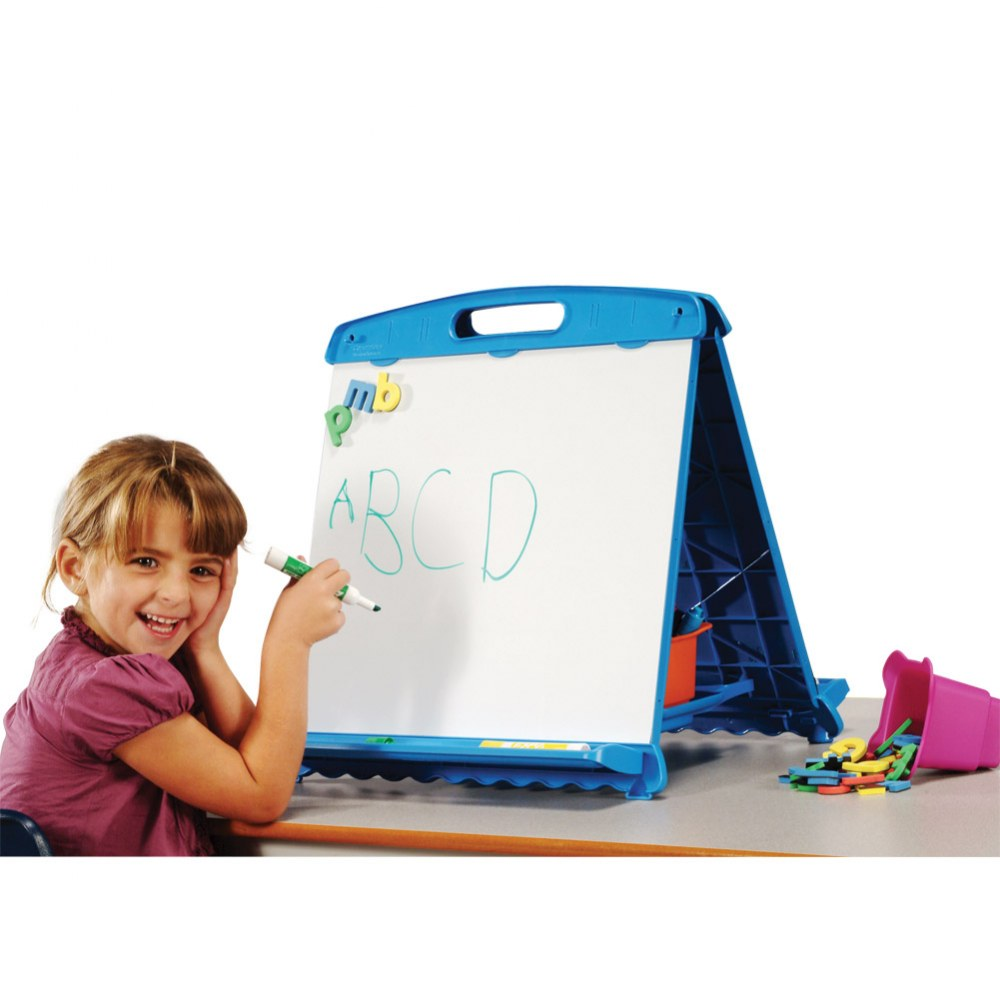 Alternate Image #2 of Magnetic & Dry-Erase Tabletop Easel