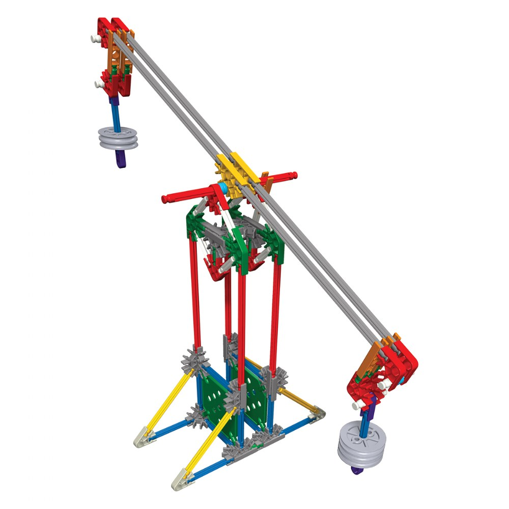 Alternate Image #1 of K'NEX® Introduction to Simple Machines: Levers and Pulleys