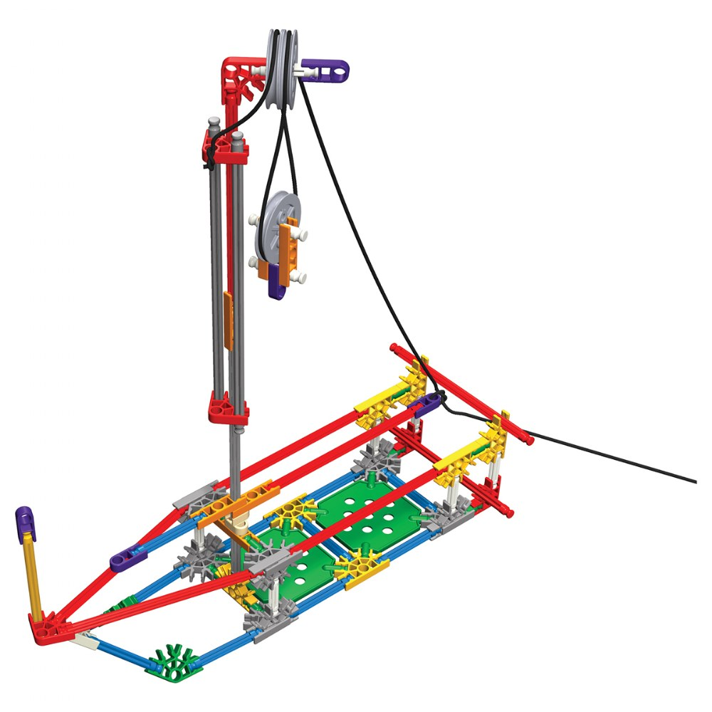 Alternate Image #3 of K'NEX® Introduction to Simple Machines: Levers and Pulleys