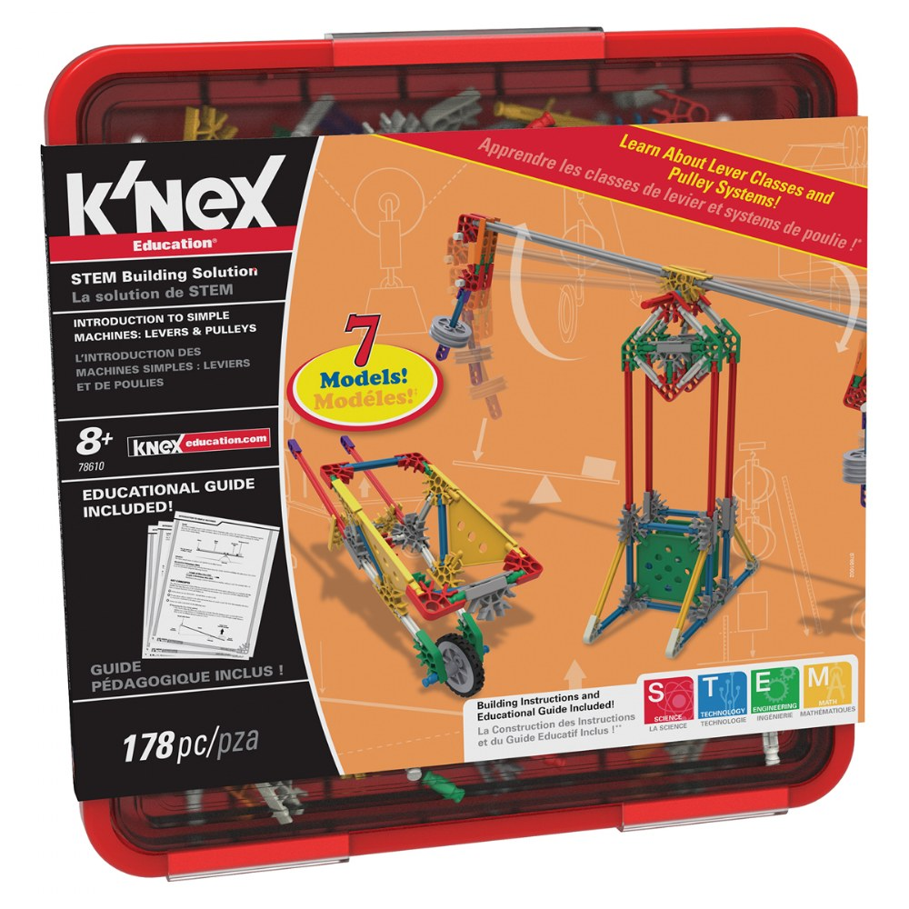 K'NEX® Introduction to Simple Machines: Levers and Pulleys