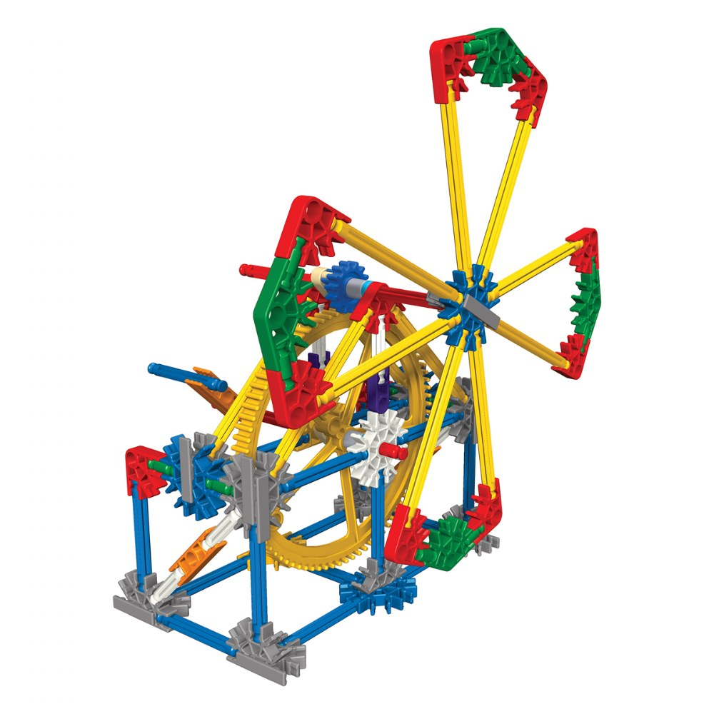 Alternate Image #1 of K'NEX® Introduction to Simple Machines: Gears - 7 Model Builds