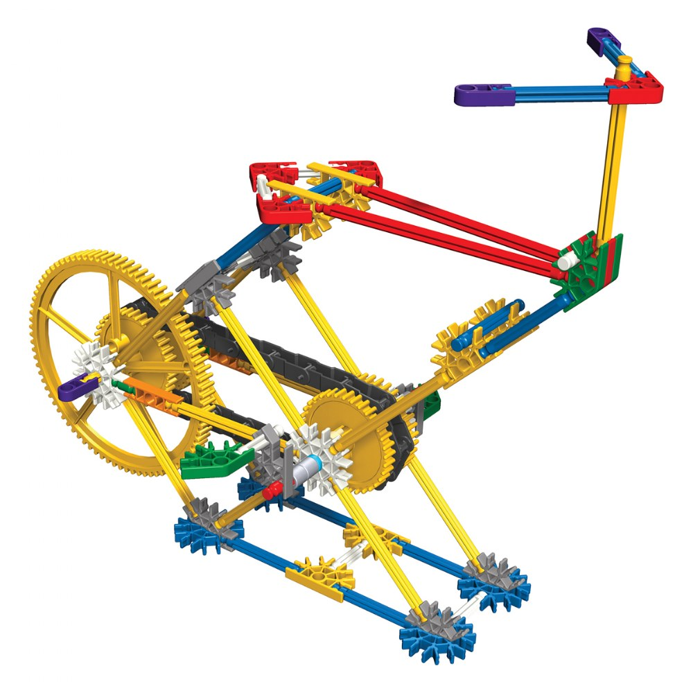 Alternate Image #2 of K'NEX® Introduction to Simple Machines: Gears - 7 Model Builds