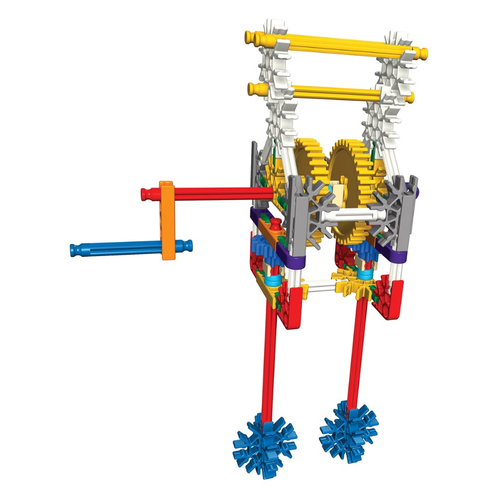 Alternate Image #3 of K'NEX® Introduction to Simple Machines: Gears - 7 Model Builds