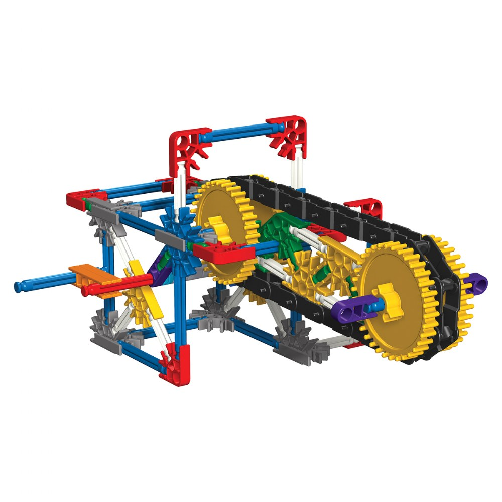Alternate Image #4 of K'NEX® Introduction to Simple Machines: Gears - 7 Model Builds
