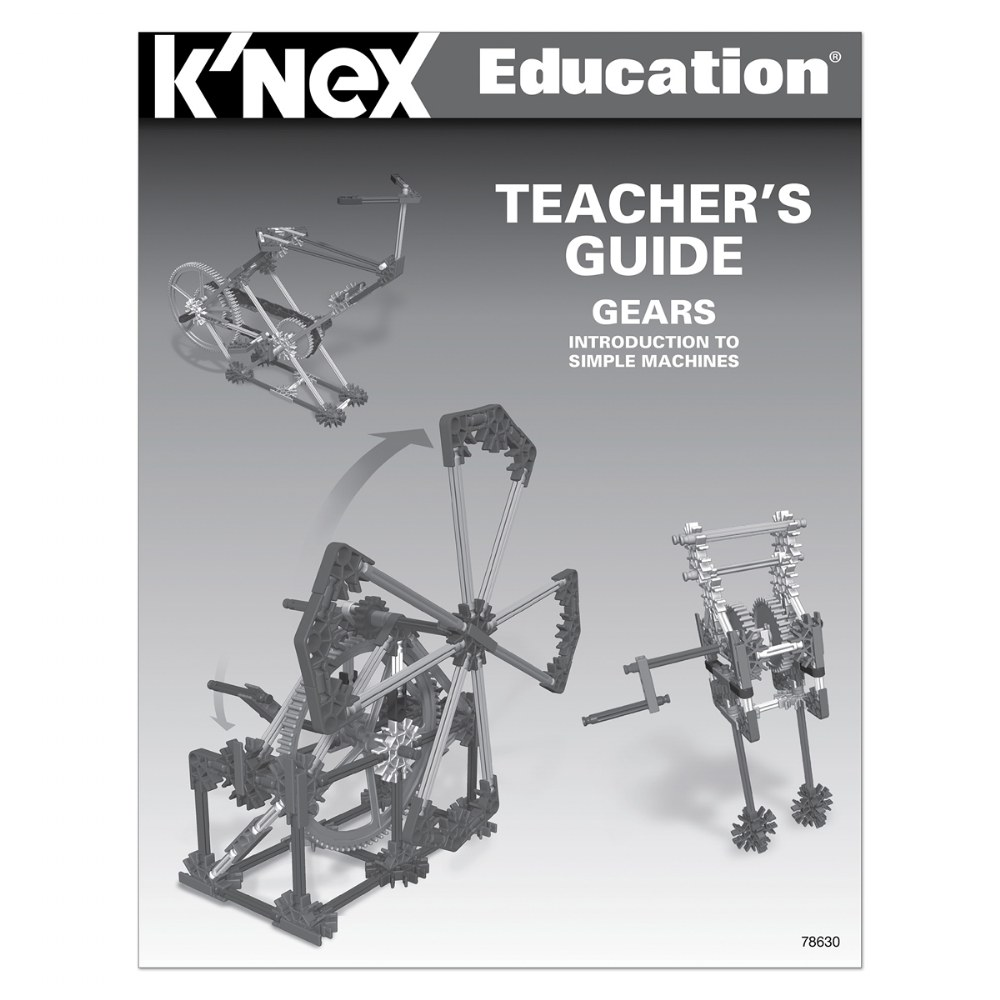 Alternate Image #5 of K'NEX® Introduction to Simple Machines: Gears - 7 Model Builds