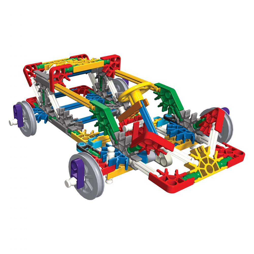 Alternate Image #1 of K'NEX® Introduction to Simple Machines: Wheels and Axles