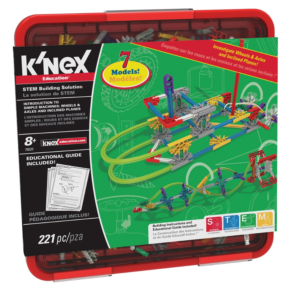 K'NEX® Introduction to Simple Machines: Wheels and Axles