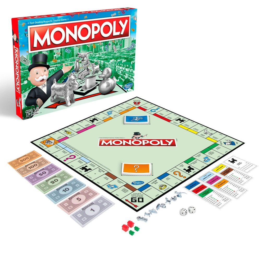 Alternate Image #1 of MONOPOLY Classic Property Trading Game