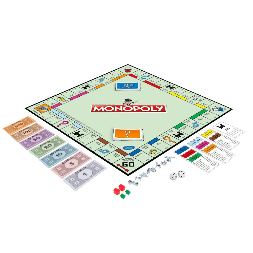 Alternate Image #2 of MONOPOLY Classic Property Trading Game