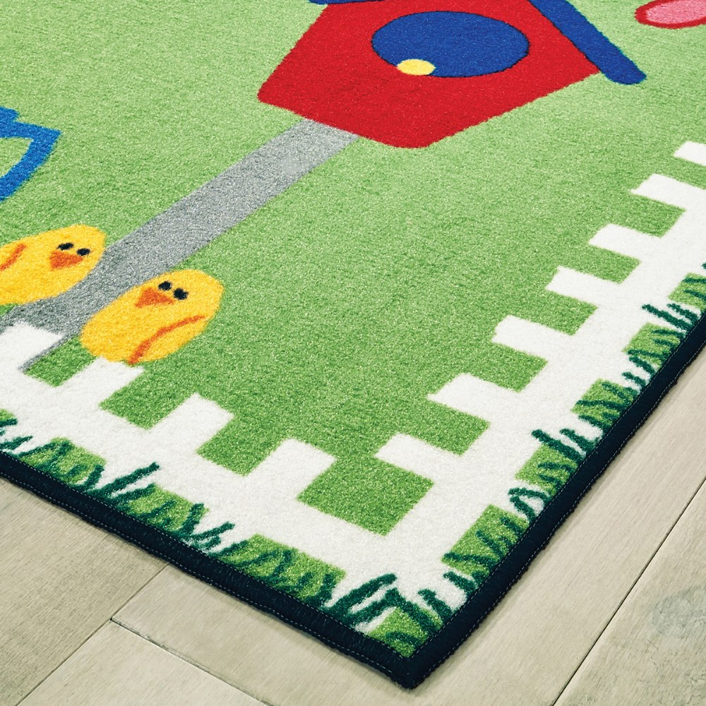 Alternate Image #1 of Garden Time KID$ Value Rugs