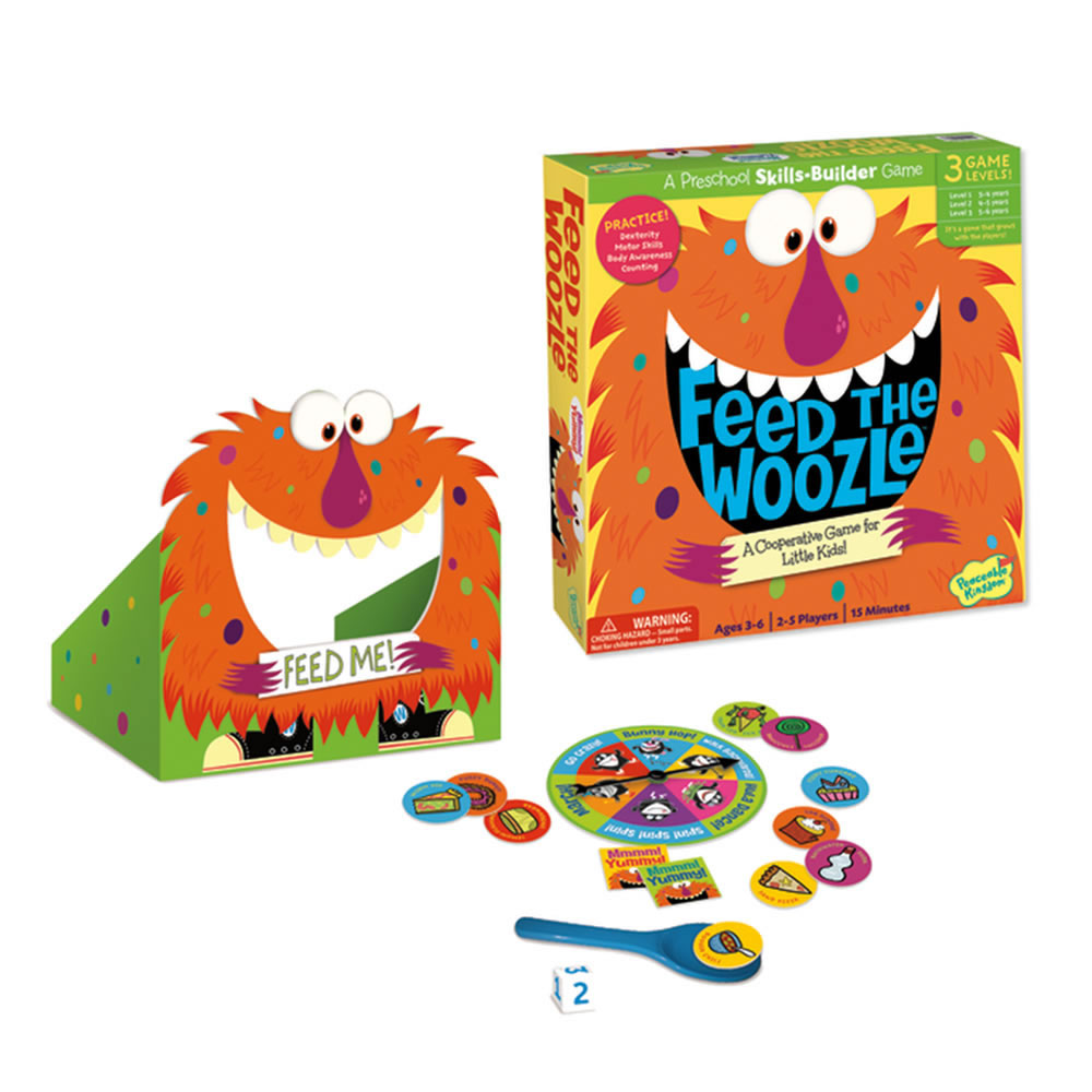 Feed the Woozle Board Game