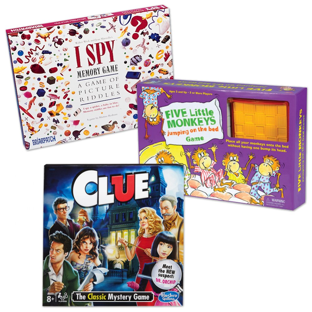Game Set - Set of 3
