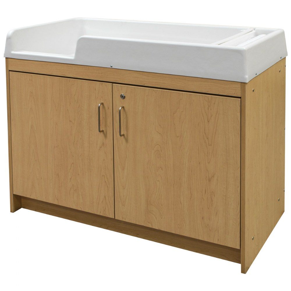 Alternate Image #1 of Infant Changing Table - Natural