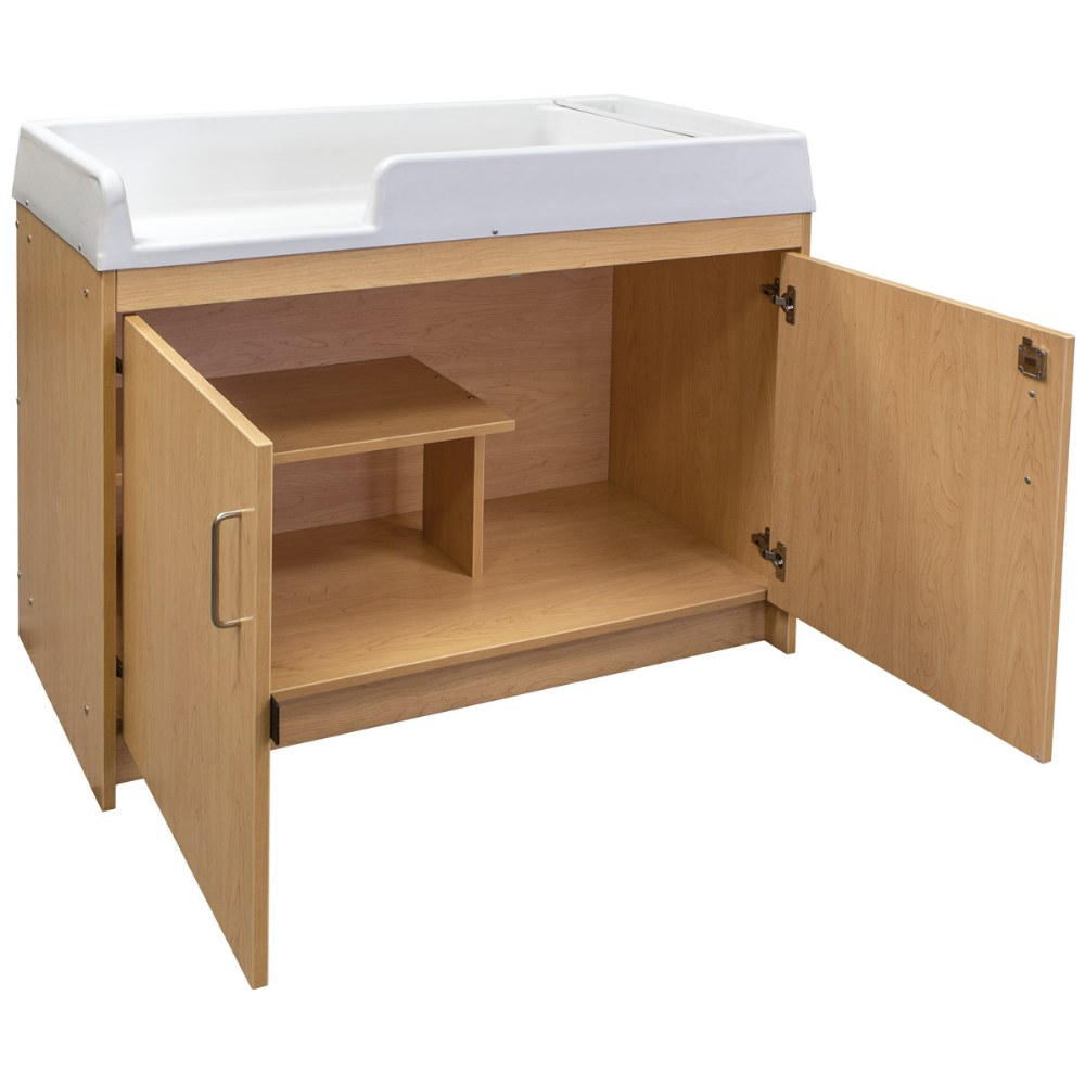Alternate Image #3 of Infant Changing Table - Natural