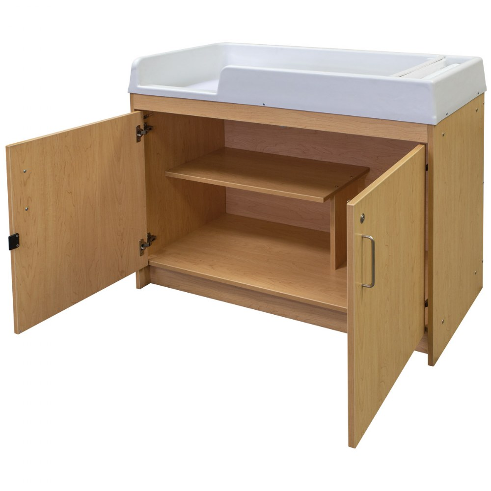 Alternate Image #4 of Infant Changing Table - Natural