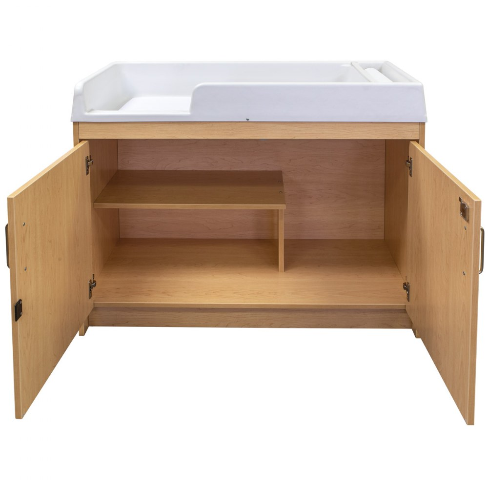 Alternate Image #5 of Infant Changing Table - Natural