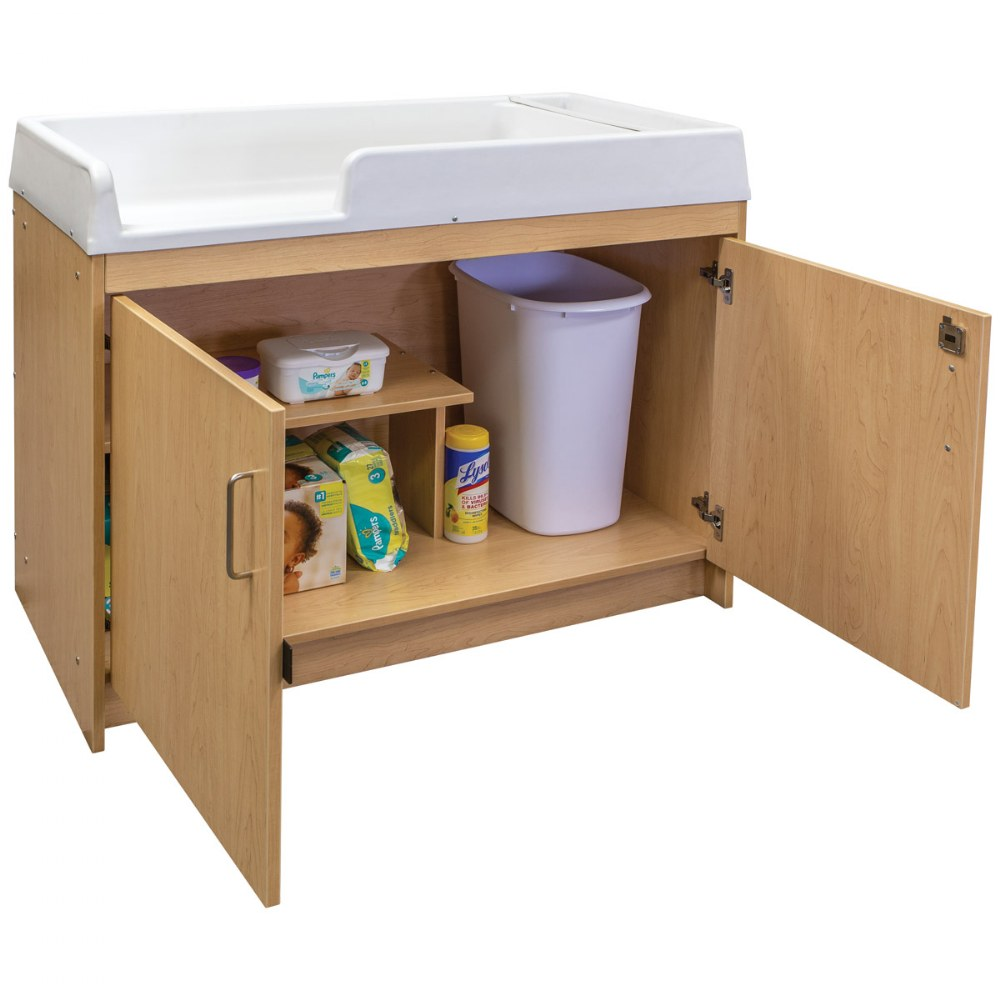 Alternate Image #6 of Infant Changing Table - Natural