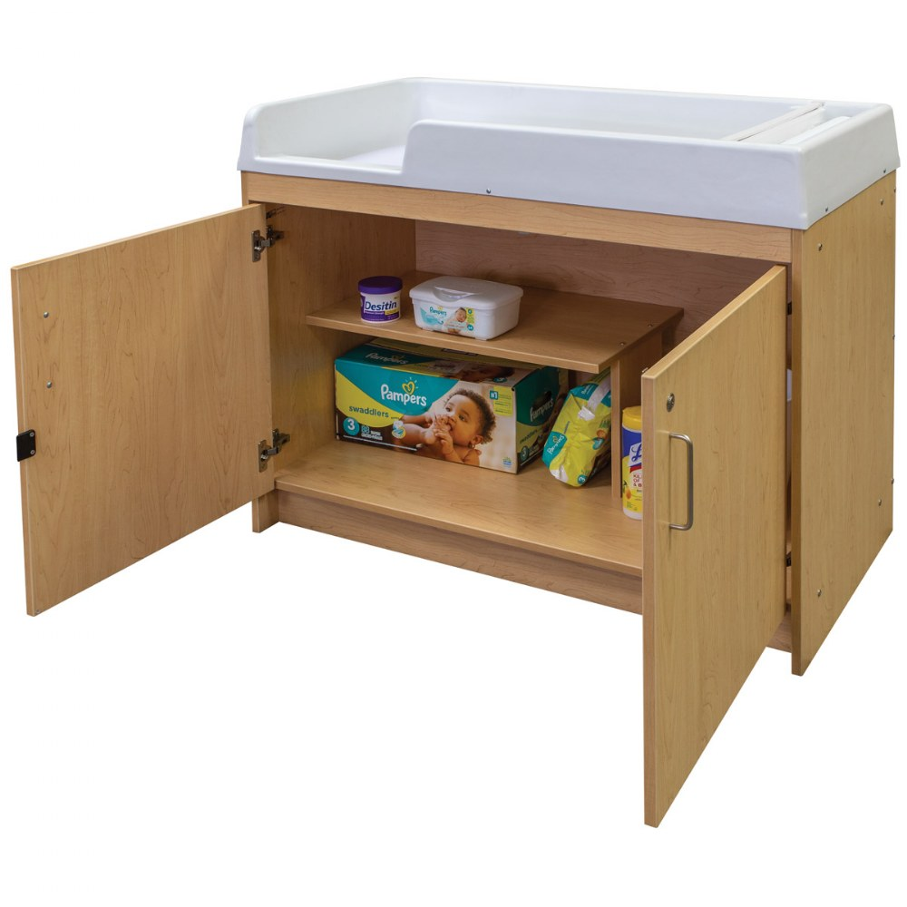 Alternate Image #7 of Infant Changing Table - Natural