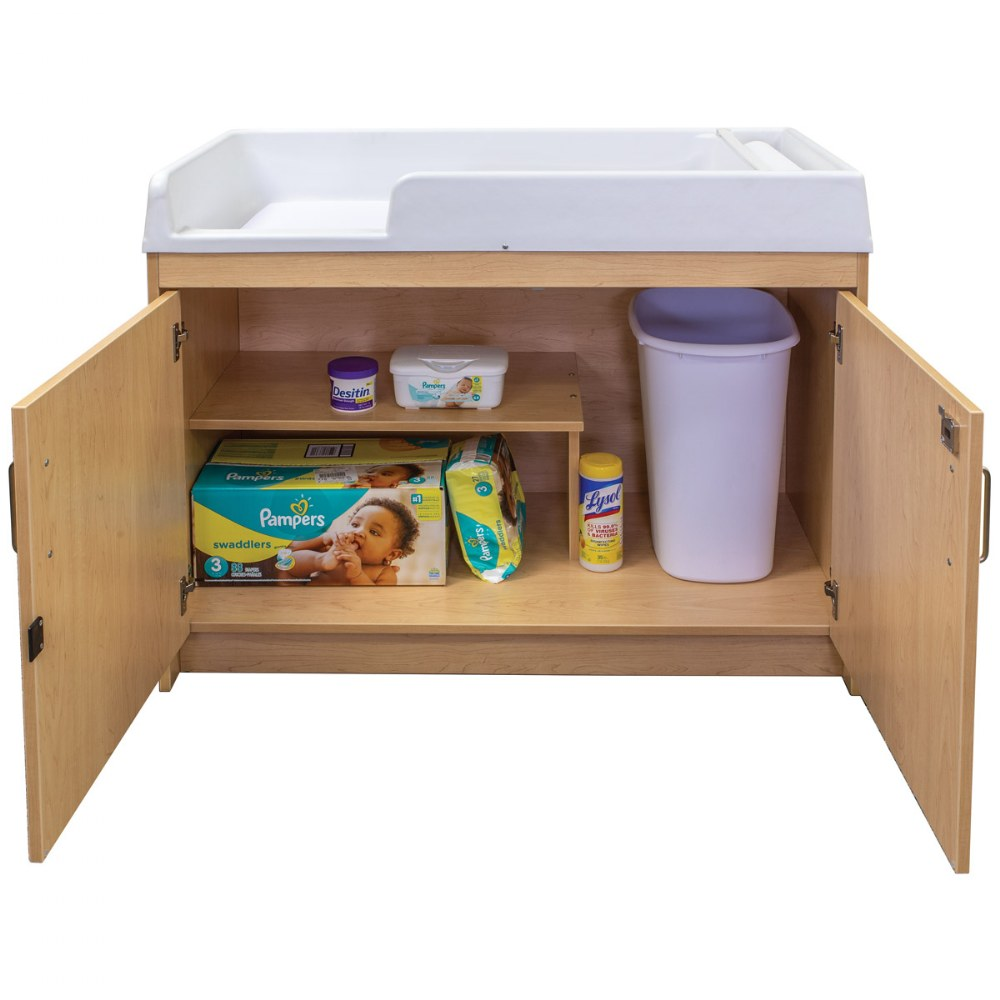 Alternate Image #8 of Infant Changing Table - Natural