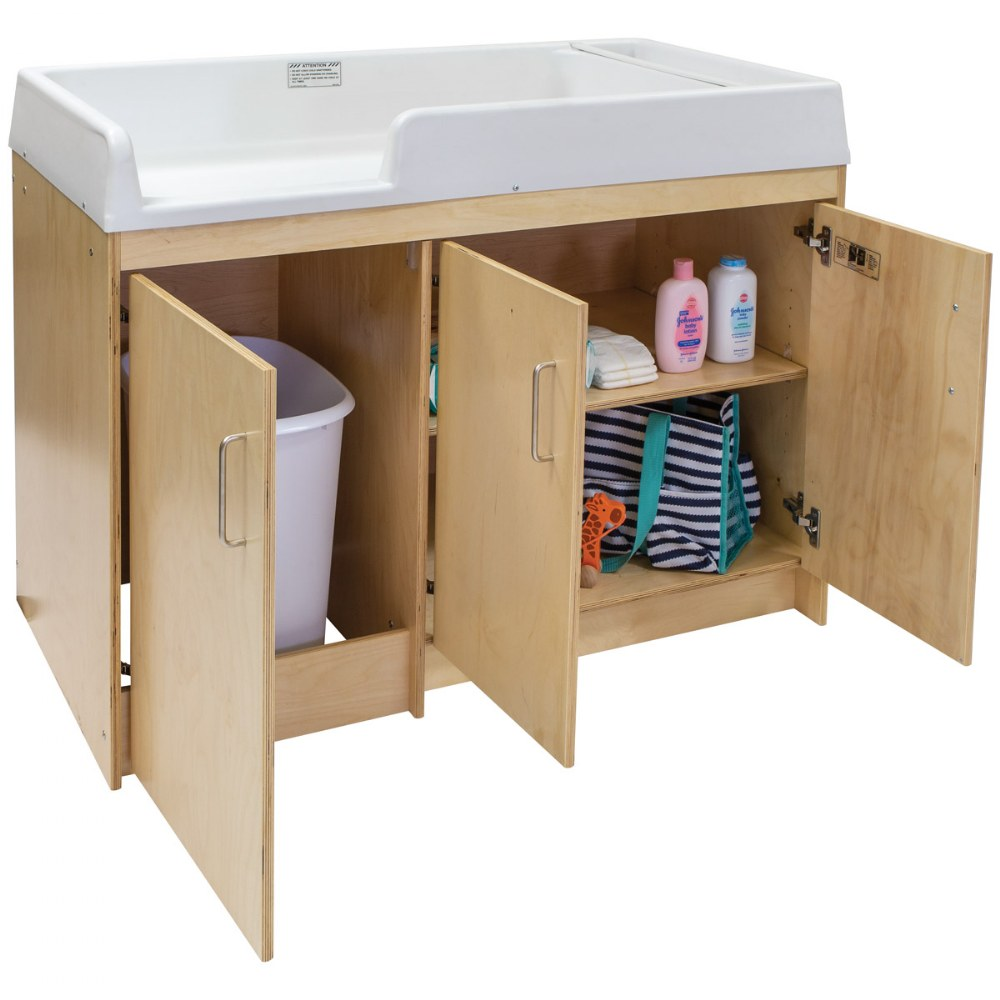 Alternate Image #5 of Birch Infant Changing Table