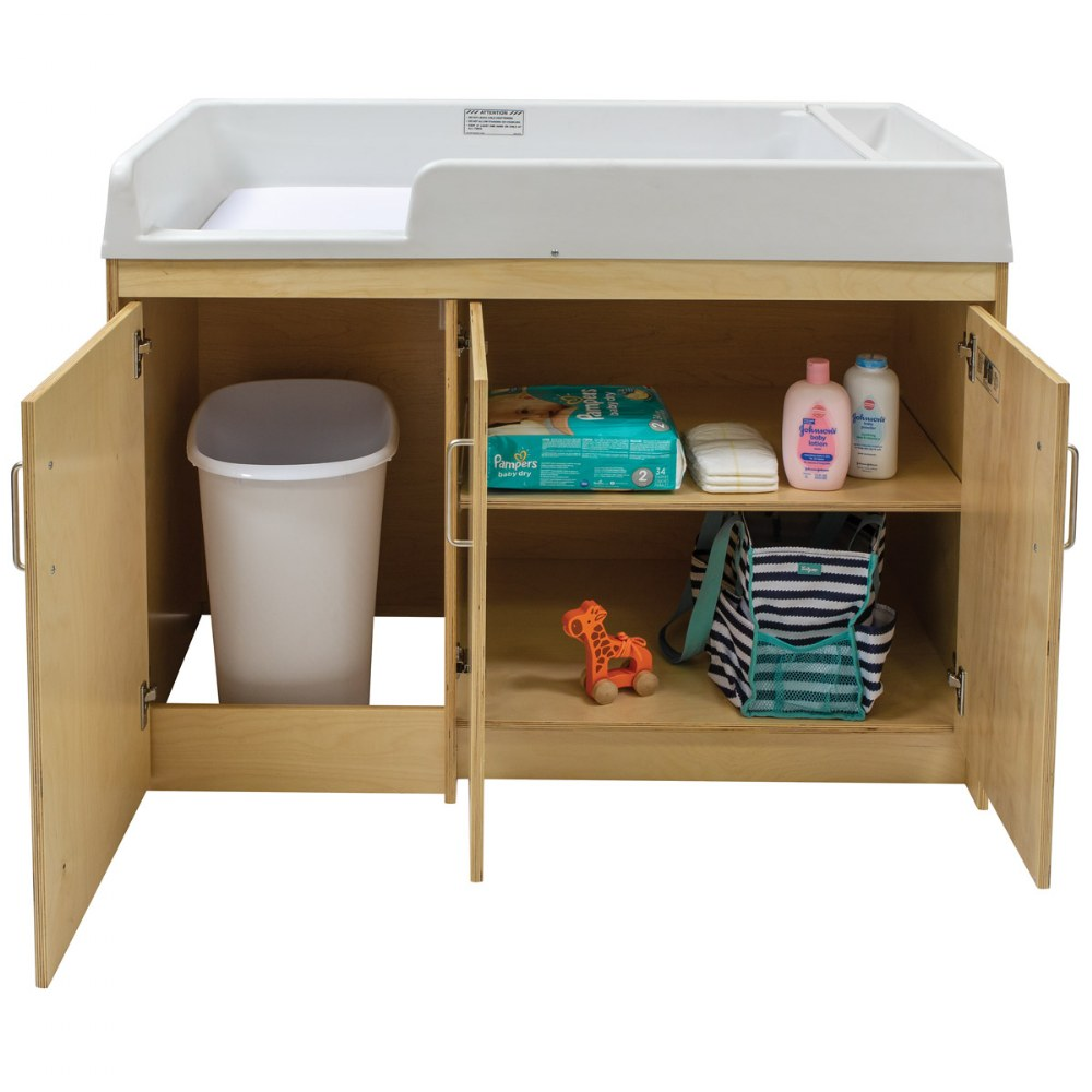 Alternate Image #7 of Birch Infant Changing Table