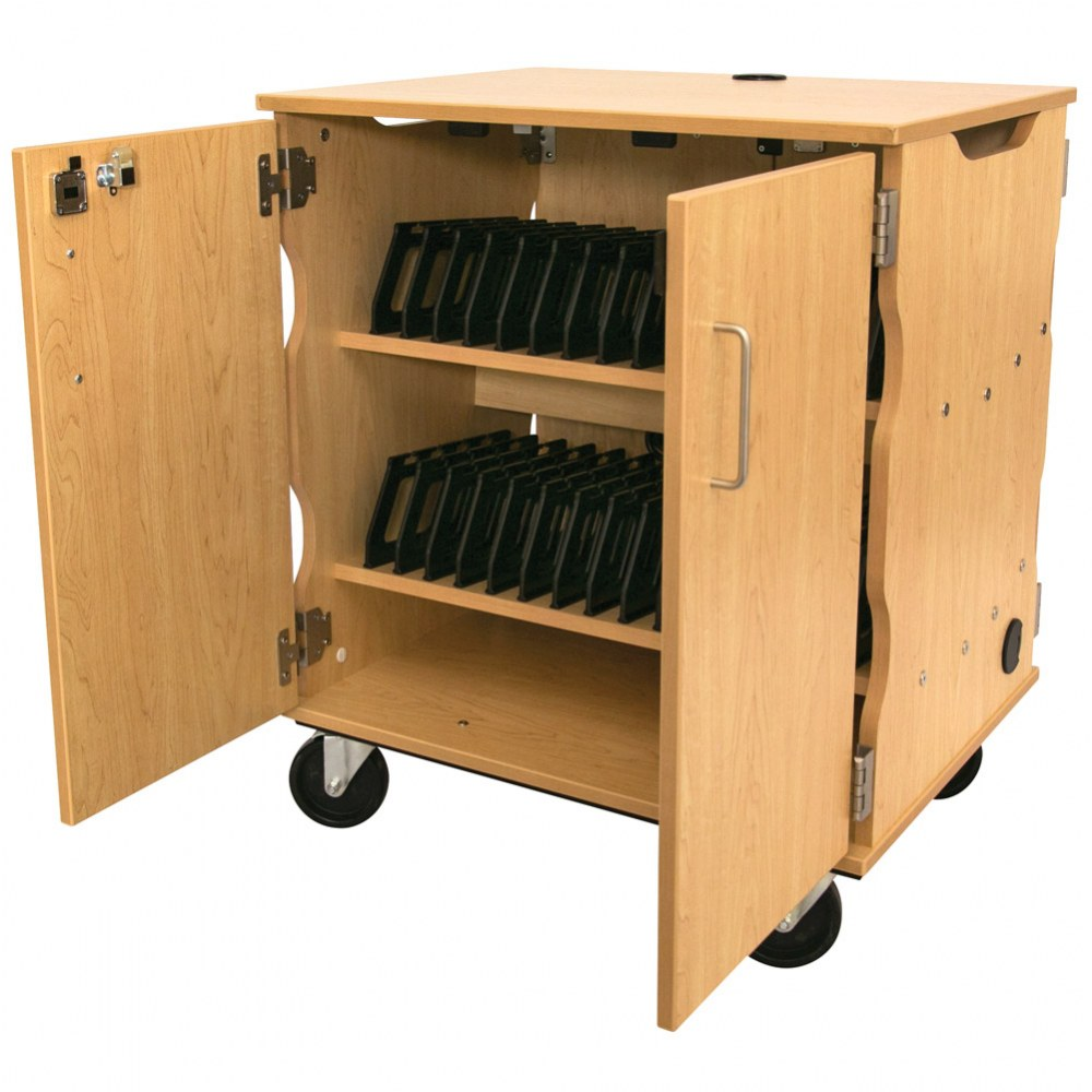 Alternate Image #1 of Mobile Tablet Charging & Storage Cart