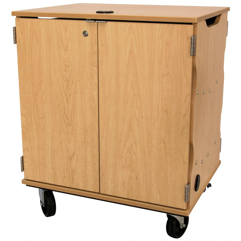Alternate Image #2 of Mobile Tablet Charging & Storage Cart