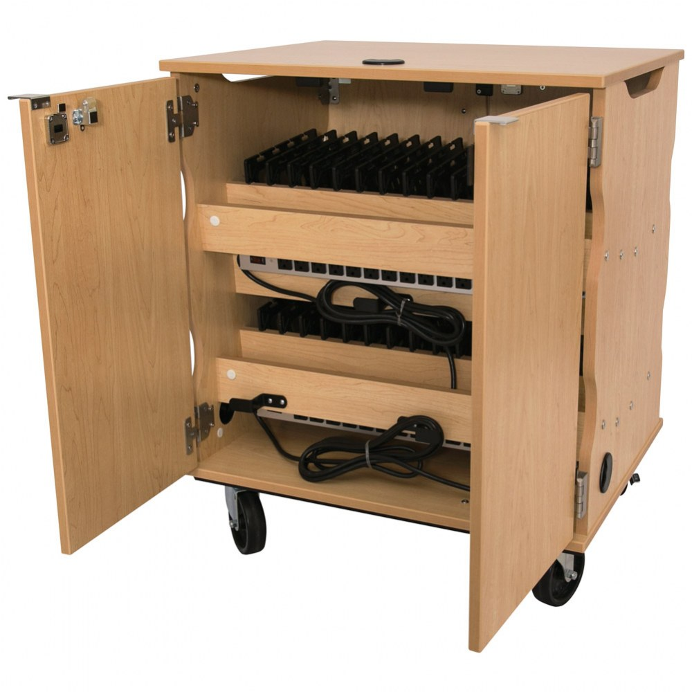 Alternate Image #3 of Mobile Tablet Charging & Storage Cart