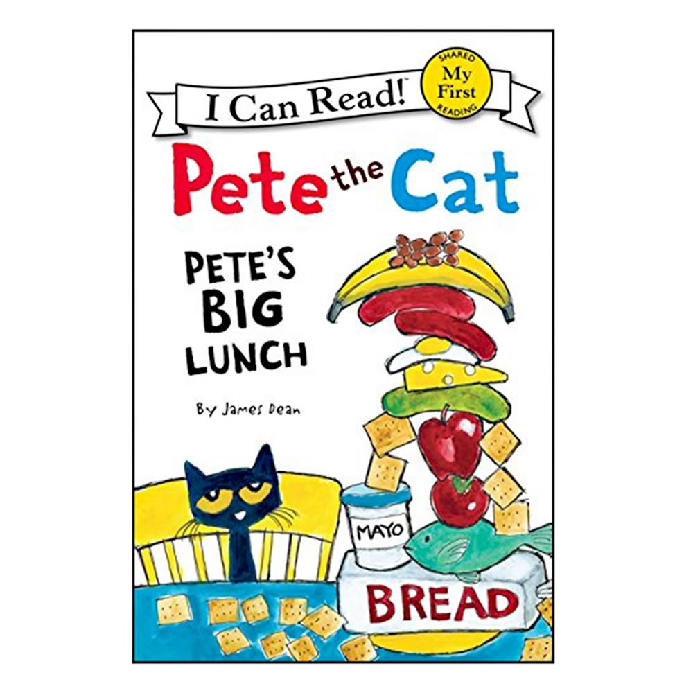 Pete the Cat: Pete's Big Lunch - Paperback