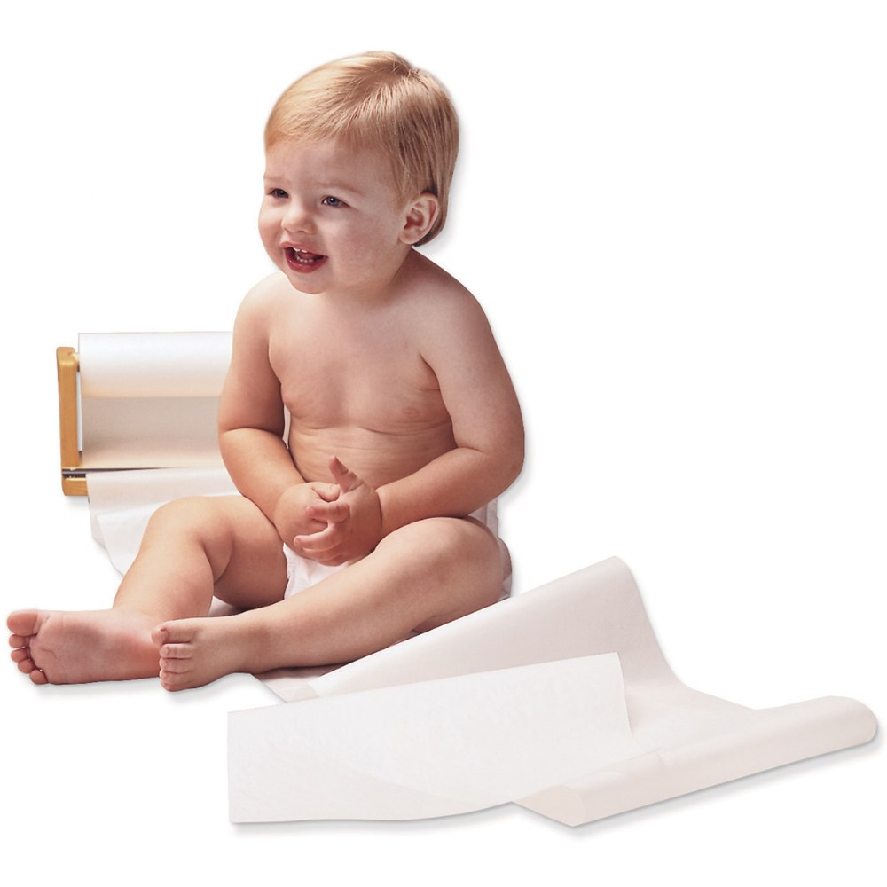 Alternate Image #1 of Changing Table Paper Rolls - Set of 12